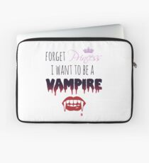 Vergiss Prinzessin, ich möchte ein Vampir sein! Laptoptasche