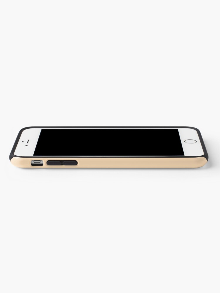 Alternate view of DaphneBridgerton & SimonBasset Beige iPhone Case & Cover