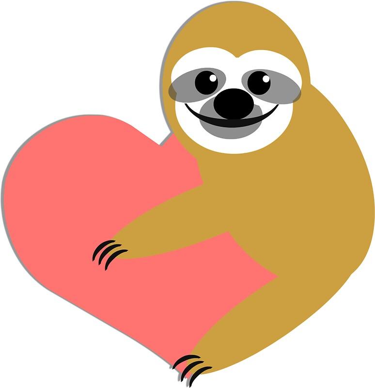 Sloth love by derpfudge