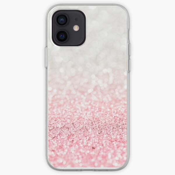 Pink Ombre Glitter iPhone Soft Case