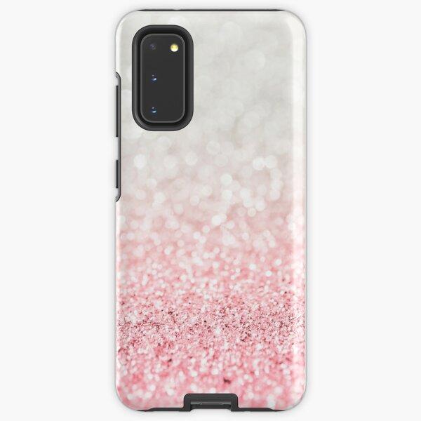 Pink Ombre Glitter Samsung Galaxy Tough Case