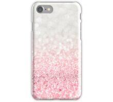 Pink Ombre Glitter iPhone Case/Skin