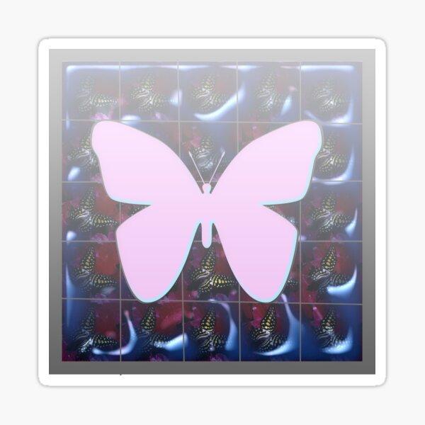 Butterfly Pattern  Sticker