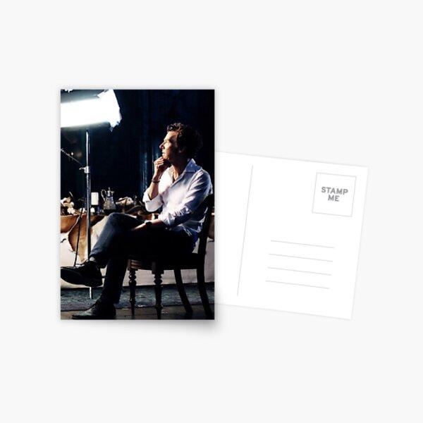 The Thinker - Benedict Cumberbatch Postcard
