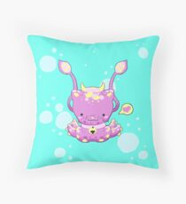 Monster Octo-Kitty Throw Pillow