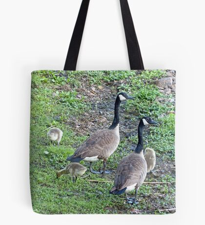 Family of Geese Tote Bag