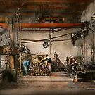 Steampunk - In an old clock shop 1866 by Michael Savad