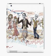 Hungry Zombies iPad Case/Skin