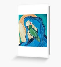 Love is a Feathered Soul Greeting Card