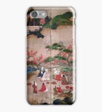 Kanō Hideyori Maple Viewers iPhone Case/Skin