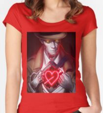 Valentine Fitted Scoop T-Shirt