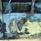 Pealing Paint Abstract  by clizzio