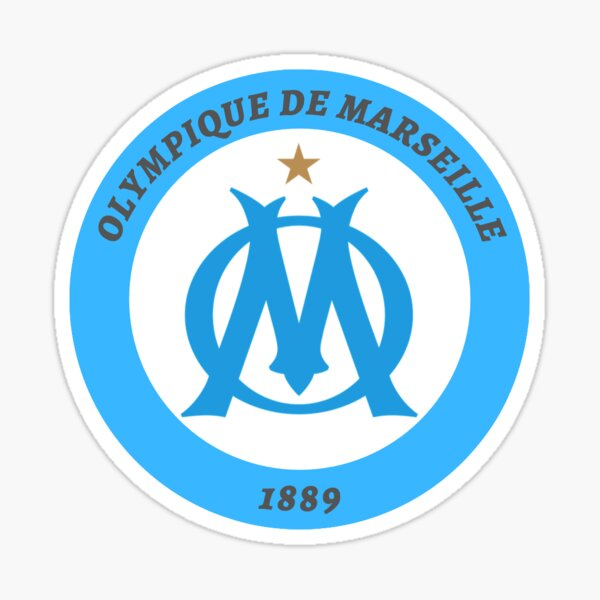 Olympique de Marseille Sticker
