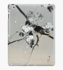 Vinilo o funda para iPad Watanabe Seitei Bird on a Flowering Branch
