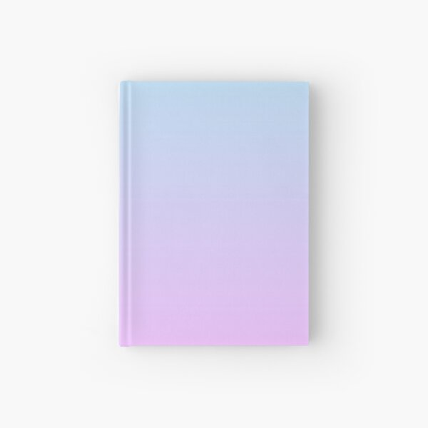 Gradient - Pastel blue/Lilac Hardcover Journal