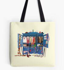 The Who-drobe Tote Bag
