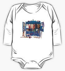 The Who-drobe Long Sleeve Baby One-Piece