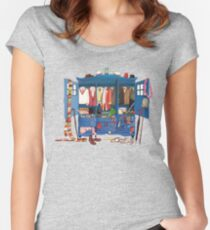 The Who-drobe Women's Fitted Scoop T-Shirt