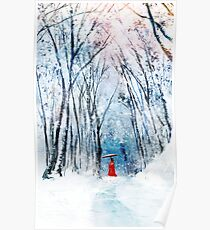 February Snow Poster