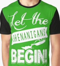 Saint Patricks Day Shenanigans Graphic T-Shirt