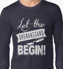 Saint Patricks Day Shenanigans Long Sleeve T-Shirt