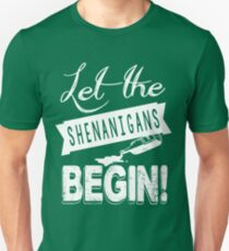 Saint Patricks Day Shenanigans T-Shirt