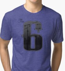 The Six -  City of Toronto, Ontario, Canada Tri-blend T-Shirt