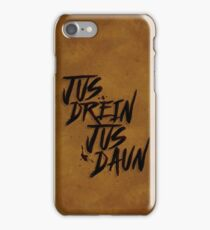 blood must have blood iPhone Case/Skin