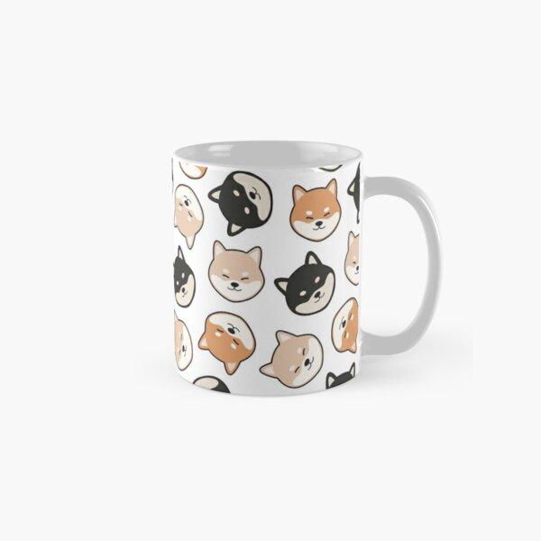 Mixed Shiba Inu Pattern Classic Mug