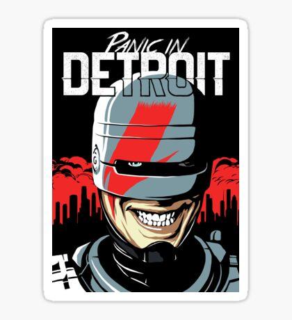Panic in Detroit Sticker