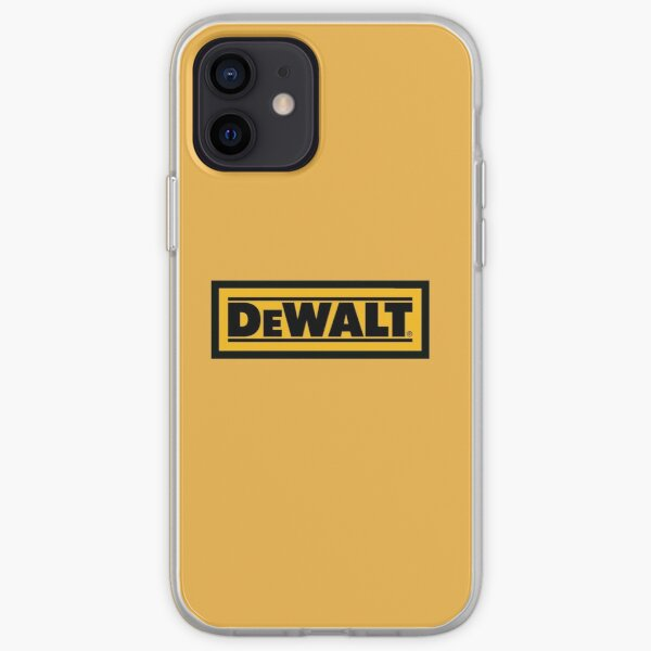 dewalt iPhone Soft Case