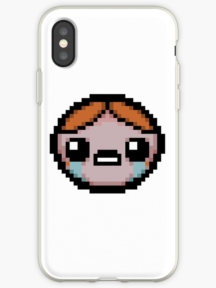 'Lazarus - The Binding of Isaac' iPhone Case by bowlerhat