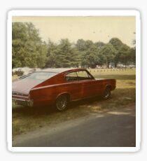 1970s muscle car  Sticker