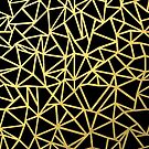 Abstract Outline Thick Gold by ProjectM