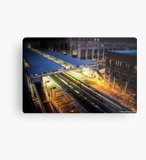 Chicago CTA Metal Print