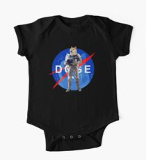 Doge Astronaut In Space One Piece - Short Sleeve