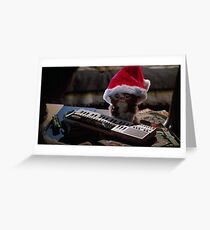 Gizmo Christmas Card Greeting Card