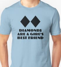 Diamonds are a Girl's Best Friend Slim Fit T-Shirt