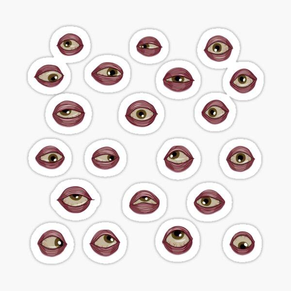 Fleshy Eyeballs Sticker