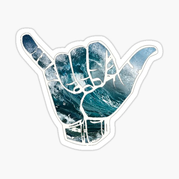 Hang loose  Sticker