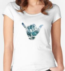 Hang loose  Women's Fitted Scoop T-Shirt
