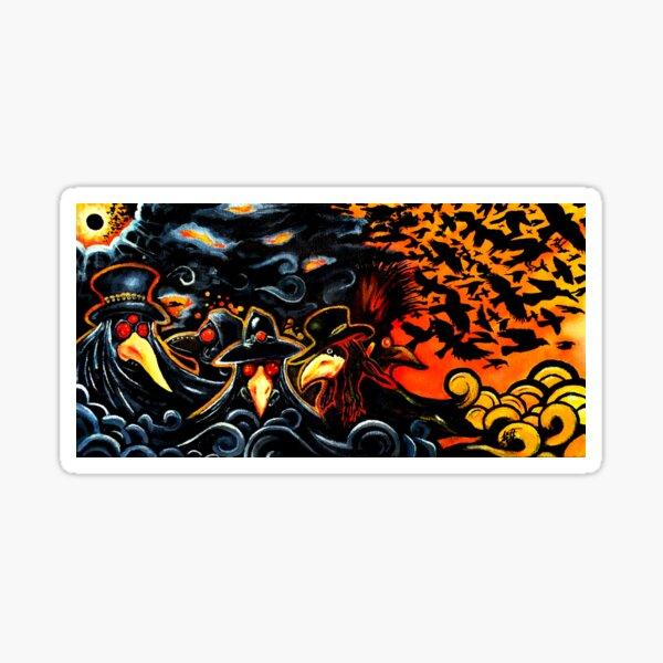 Birds of Hell Sticker