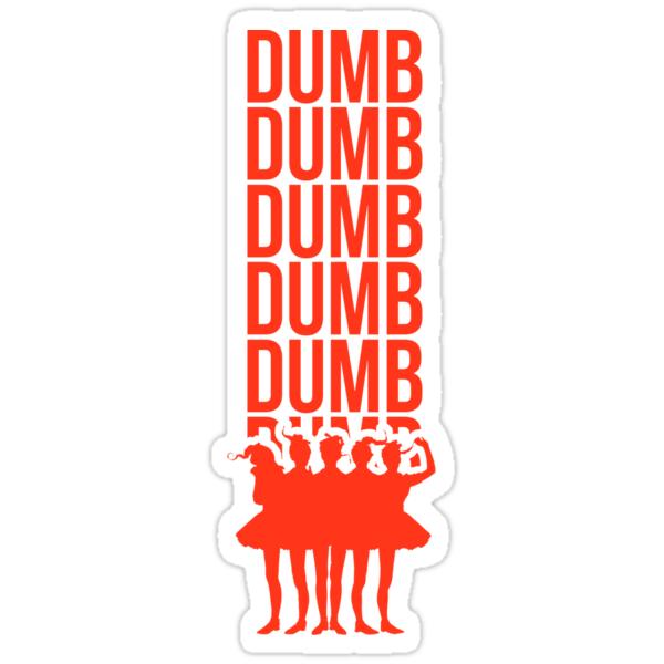 Quot Red Velvet Quot Dumb Dumb Quot Era Quot Stickers By Lunation Redbubble