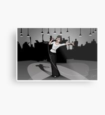 Live from Television City Metal Print