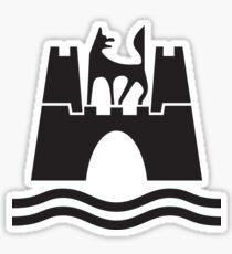 Wolfsburg Logo Sticker