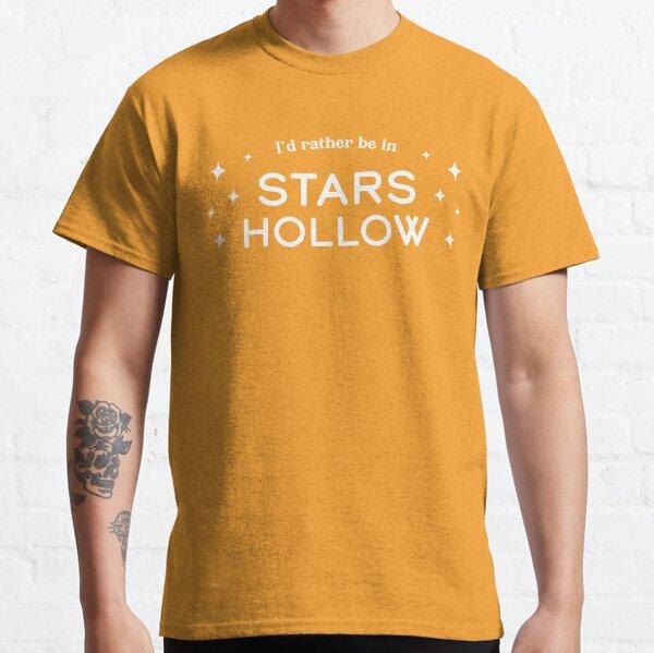 Prefiero estar en Stars Hollow, amarillo Camiseta clásica
