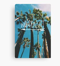 Wanderlust Palm Canvas Print