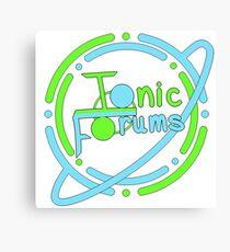 Ionic Forums Member Merchandise Canvas Print