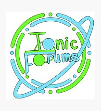 Ionic Forums Member Merchandise Photographic Print
