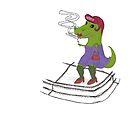 Tranny-saurus Rex by Matt Redmond